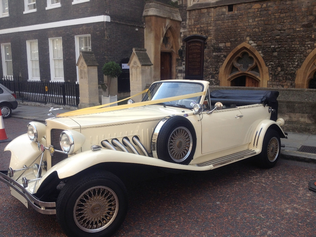 Vintage Beauford Wedding Car Beauford Wedding Car In London
